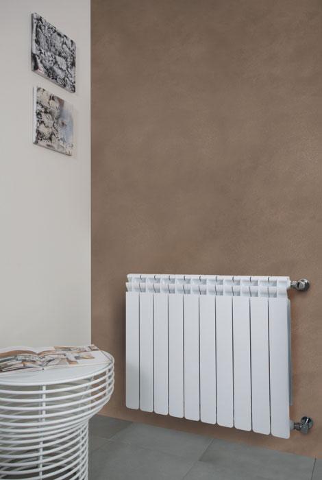 Kaldo caloriferi in alluminio orizzontali per il bagno radiatori 2000 - Radiatori bagno orizzontali ...