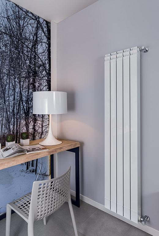 Kaldus Radiatore in alluminio per il soggiorno verticali - Radiatori ...